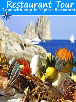 Capri Restaurant Tour boat