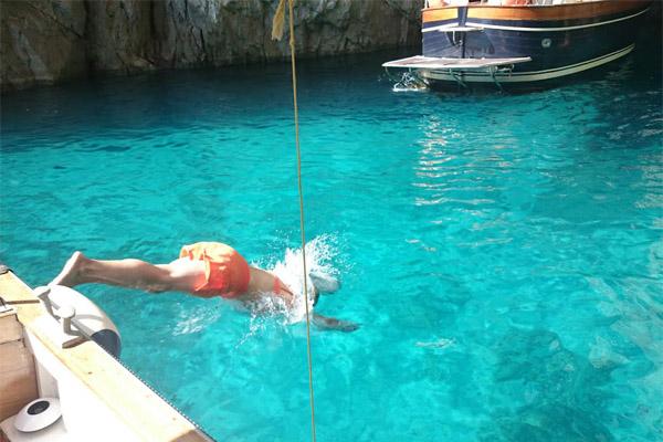 Capri Snorkel Tour Camillo's Boat